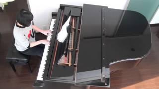 2016-02 14yo(中2) 合唱のピアノ伴奏 練習中です。