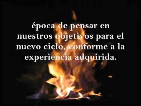 Solsticio De Invierno Ceremonia Del Fuego