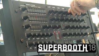 Black Corporation Kijimi: мощный аналоговый синтезатор (Superbooth18)