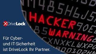 Für IT Sicherheit, Datensicherheit und Cybersecurity ist DriveLock Ihr Partner.