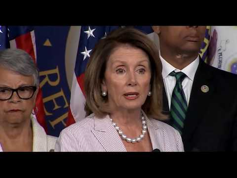 Thumbnail: Nancy Pelosi Speaks about Presient Trump & Trump Jr meeting with russian lawyer