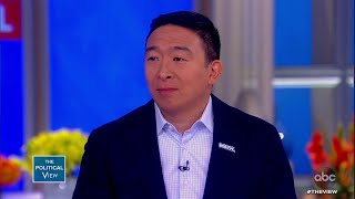 Andrew Yang Talks SNL Comedian and Freedom Dividend | The View