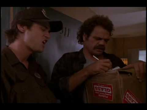 Package delivery guy make a house call - 1 4