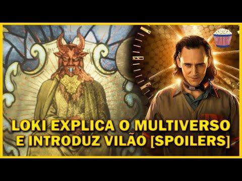 LOKI explica o multiverso e apresenta o vilão [SPOILER] - Crítica