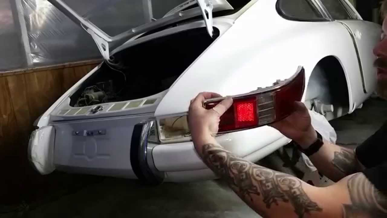 How To 1968 Porsche 911 Tail Light Wiring Youtube