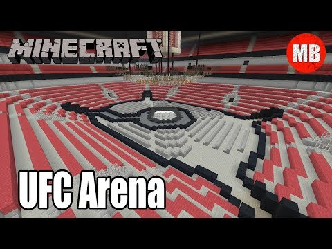 Ufc Minecraft Arena Youtube