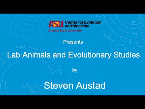 Lab Animals for Evolutionary Studies | Steven Austad