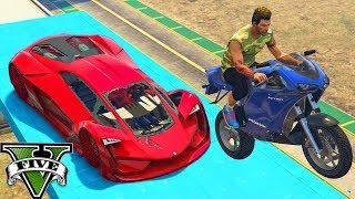 GTA V Online: MOTOS vs TEZERACT - EU MITEI demais e ACABEI ME FERRANDO!!!
