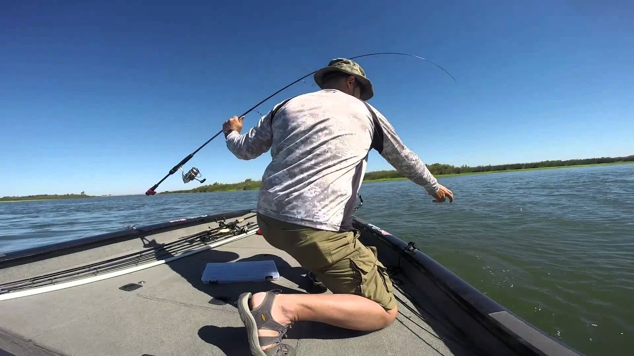 6 29 14 delta franks tract youtube for Franks tract fishing report