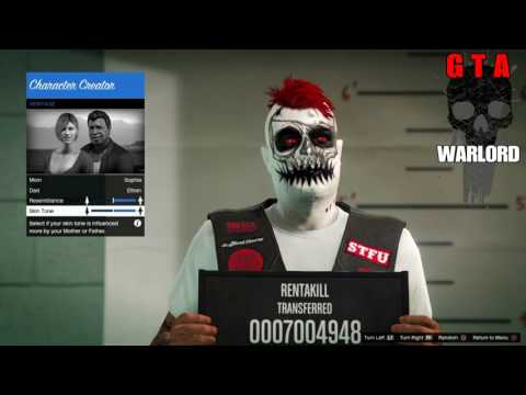 GTA 5 How 2 Change Online Characters Appearance All NEW