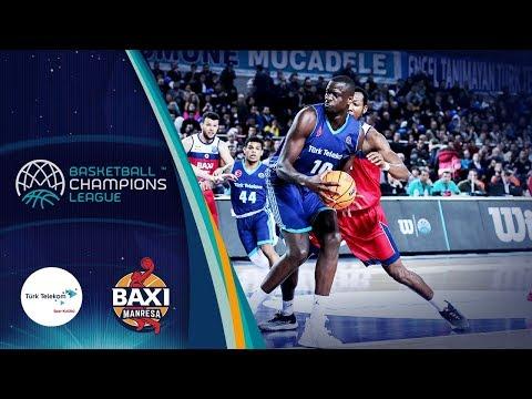 Türk Telekom V Baxi Manresa – Highlights – Basketball Champions League 2019-20