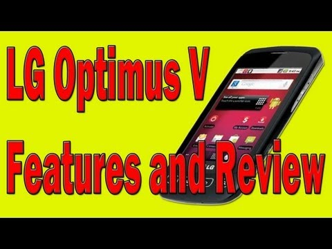 LG Optimus V Features and Review - Virgin Mobile