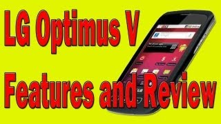 lg optimus v features and review virgin mobile