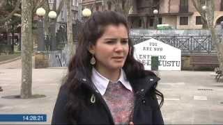 Kobanêko kurdu bat Euskal Herrian