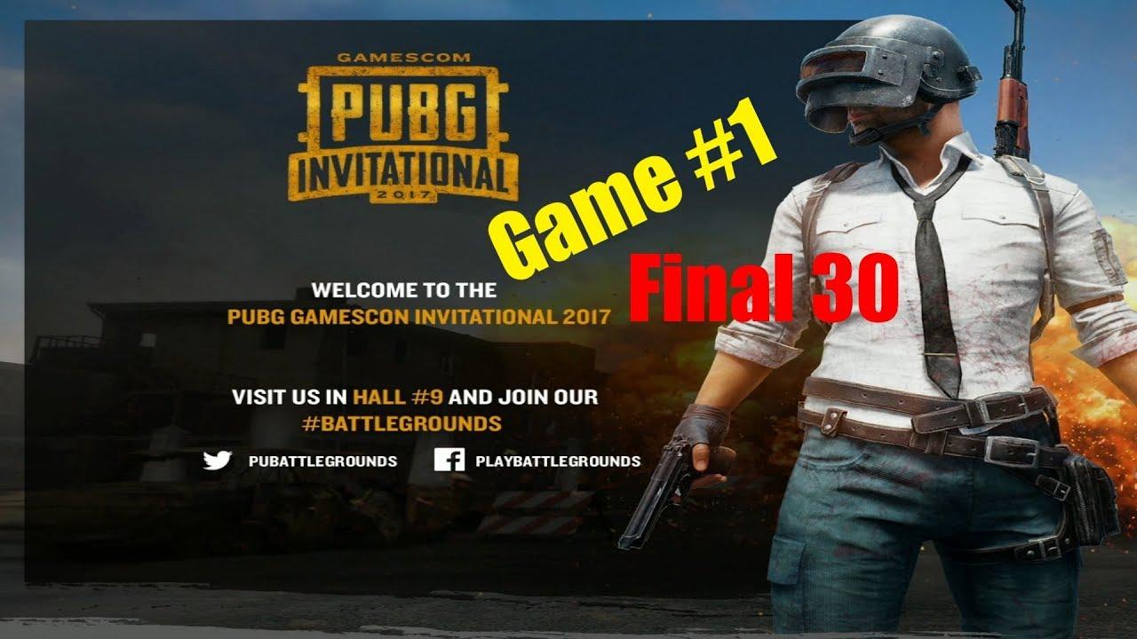 Gamescom Pubg