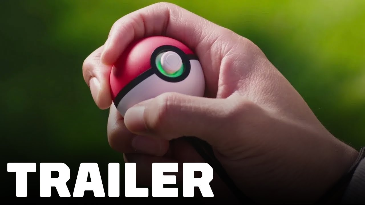 Pokémon: Let's Go - Play with Pokémon GO & Poké Ball Plus Trailer