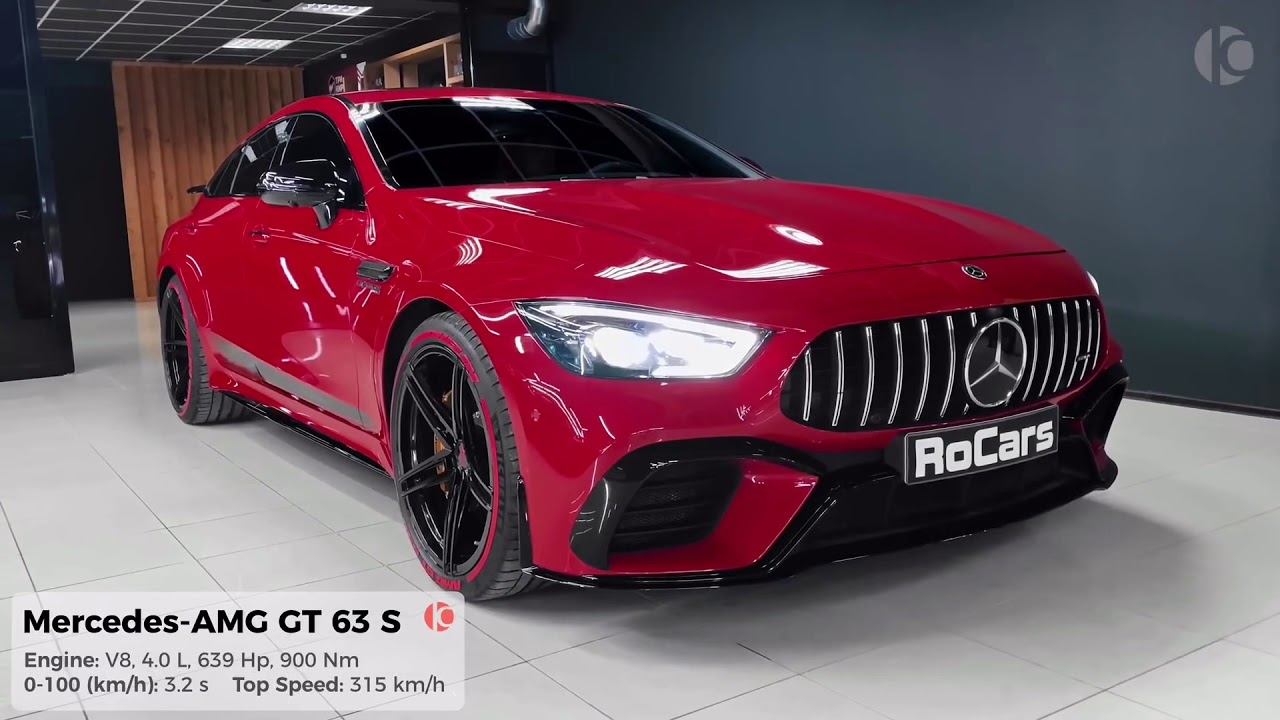 2020 Mercedes Amg Gt 63 S Interior And Exterior Details