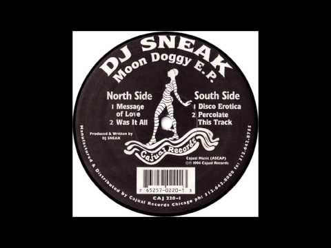 DJ Sneak - Was It All