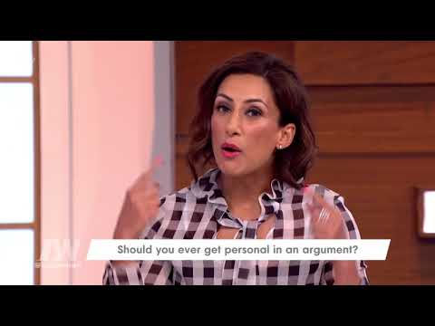 Saira Khan Tries Not to Get Personal When Arguing | Loose Women