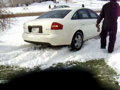 Audi a6 winter tires