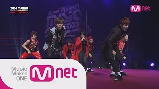 방탄소년단(BTS) - 상남자(Boy in Luv) at 2014 MAMA Red Carpet