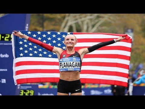 NYC Marathon 2017: Shalane Flanagan is first American woman to win in 40 years.