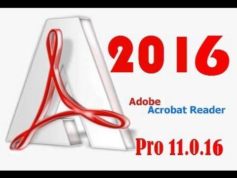 Adobe Acrobat Xi Pro 11.0.16 crack