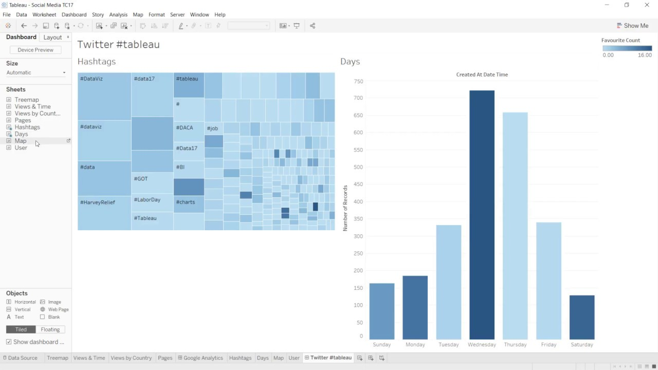 TC18 Sessions: Rock your Social Media Data with Tableau
