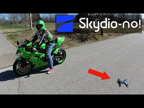 Skydio 2 Crash (Real-World Test Environment) KEN HERON  [4K]