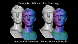 Shading-based Refinement on Volumetric Signed Distance Function