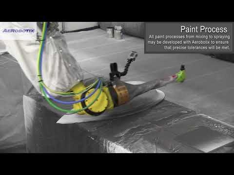 FANUC Robot Loads/Unloads Crank Shafts - Dampener Spray System