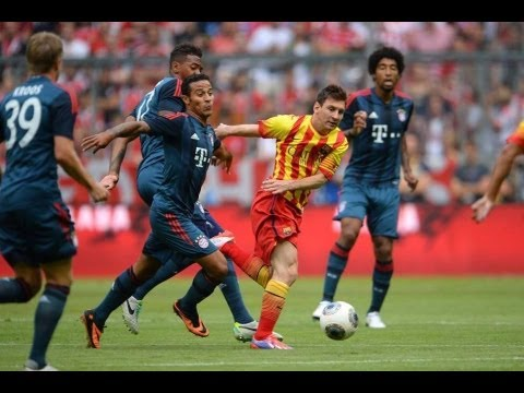 Lionel Messi Vs Bayern Munich 2013
