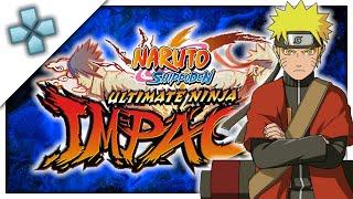 Naruto Shippuden Ultimate Ninja Impact - PSP Gameplay (PPSSPP) 1080p