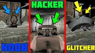 - HACKER VS GLITCHER VS NOOB IN GRANNY