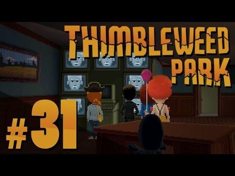 Thimbleweed Park - Text Adventures - PART #31
