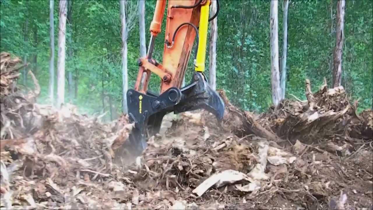 Costa er200 stump harvester arrancador rachador de cepos for Cepos para plazas de garaje