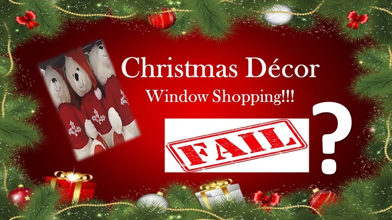 Christmas Decor Window Shopping 2017 (FAIL???) | Target and Kmart ...