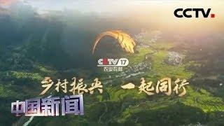 [中国新闻] 农业农村频道8月1日起试验播出 | CCTV中文国际