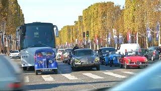 200 سيارة كلاسيكة تجوب شوارع باريس في الذكرى 120 لعرض السيارات العريق في المدينة…