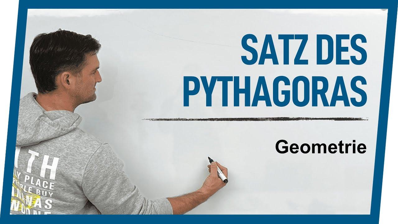 Satz des Pythagoras   Mathe by Daniel Jung
