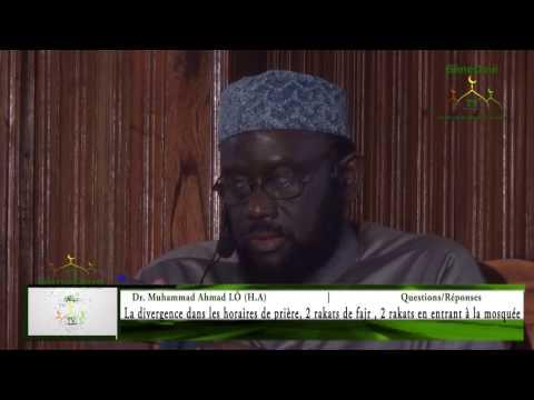 Questions & Réponses || Dr. Mouhammad Ahmad LO