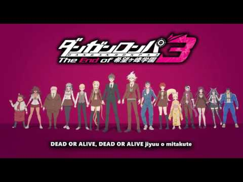 Opening Danganronpa 3: The End of Kibougamine Gakuen + lyrics (DEAD OR LIE )