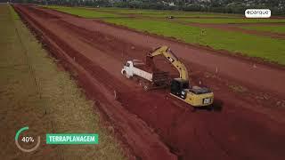 Obras a todo vapor no Eparque em Campo Grande/MS !