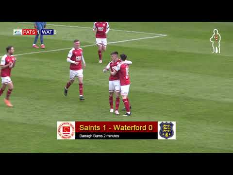 Highlights: Saints 1 - Waterford 0 (20/04/2021)
