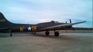 Memphis Belle Arrives in Raymond MS