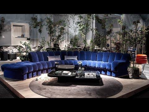 De Sede. Швейцарский бренд кожаной мебели. ISaloni 2019