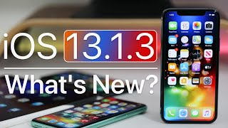 iOS 13.1.3 is Out! - What's New? Video