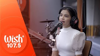 "Zephanie performs ""Pangako Ko"" LIVE on Wish 107.5 Bus"