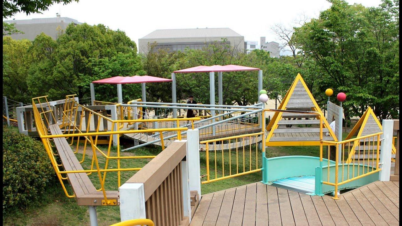 千田公園、広島市 街中にあるオアシス - YouTube