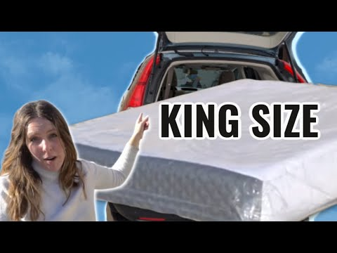 How To Fit A King Size Mattress In An SUV!!